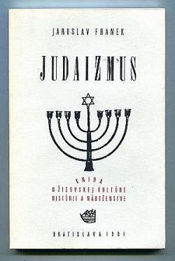 Judaizmus obálka knihy