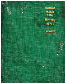 Mravný národ obálka knihy