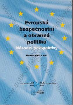 Evropská bezpečnostní a obranná politika. Národní perspektivy obálka knihy