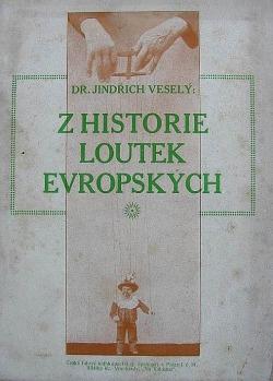 Z historie loutek evropských obálka knihy