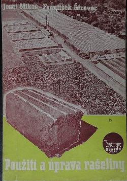 Použití a úprava rašeliny obálka knihy