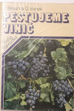 Pestujeme vinič obálka knihy