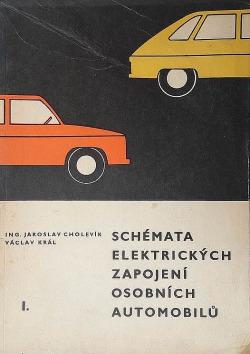 Schémata elektrických zapojení osobních automobilů obálka knihy