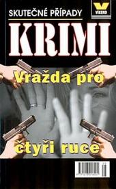 Vražda pro čtyři ruce obálka knihy