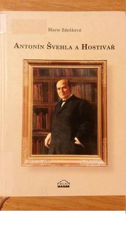 Antonín Švehla a Hostivař obálka knihy