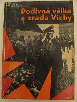 Podivná válka a zrada ve Vichy obálka knihy
