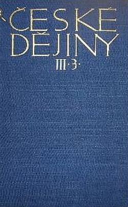 Věk poděbradský III. obálka knihy