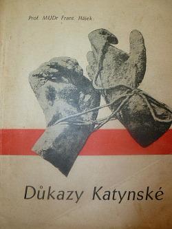 Důkazy Katynské obálka knihy
