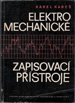 Elektromechanické zapisovací přístroje obálka knihy