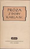 Próza z doby Karla IV.