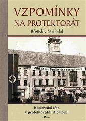 Vzpomínky na protektorát obálka knihy