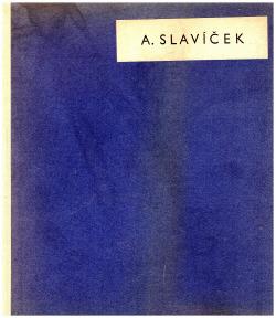 Antonín Slavíček obálka knihy