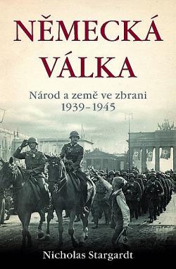Německá válka obálka knihy