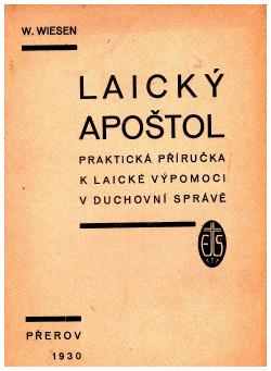 Laický apoštol obálka knihy