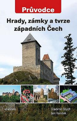 Hrady, zámky a tvrze západních Čech obálka knihy
