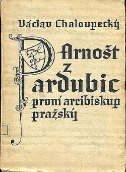 Arnošt z Pardubic obálka knihy