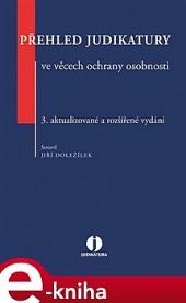 Přehled judikatury ve věcech ochrany osobnosti obálka knihy