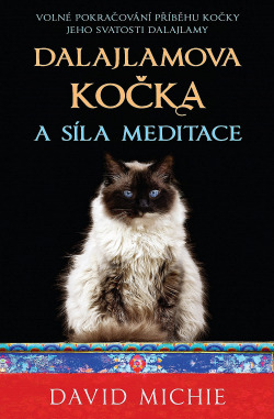 Dalajlamova kočka a síla meditace obálka knihy