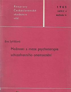 Možnosti a meze psychoterapie schizofrenního onemocnění obálka knihy