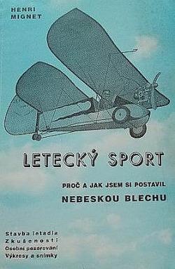 Letecký sport: proč a jak jsem si postavil nebeskou blechu obálka knihy