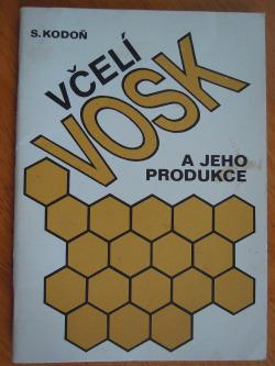 Včelí vosk a jeho produkce obálka knihy
