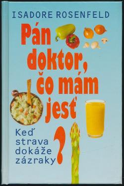 Pán doktor, čo mám jesť? obálka knihy