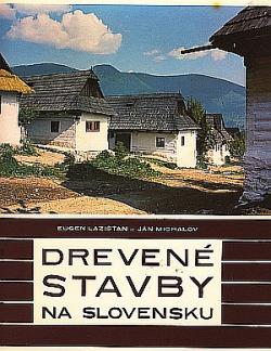 Drevené stavby na Slovensku obálka knihy
