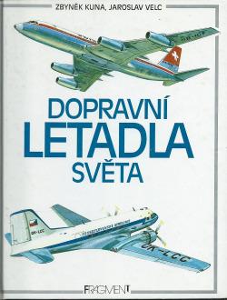 Dopravní letadla světa obálka knihy