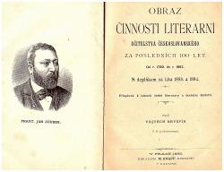 Obraz činnosti literární učitelstva českoslovanského