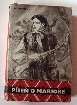 Píseň o Marioře obálka knihy