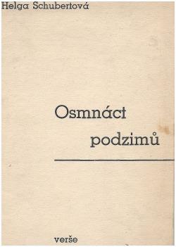 Osmnáct podzimů obálka knihy