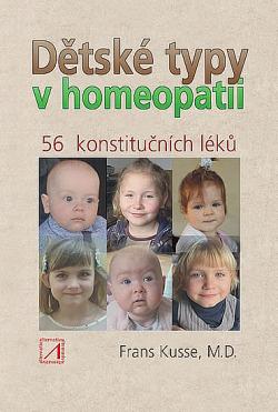 Dětské typy v homeopatii obálka knihy