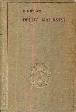 Dějiny malířství obálka knihy