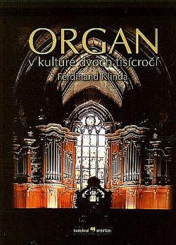 Organ v kultúre dvoch tisícročí obálka knihy