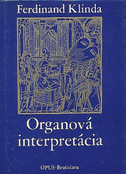 Organová interpretácia obálka knihy