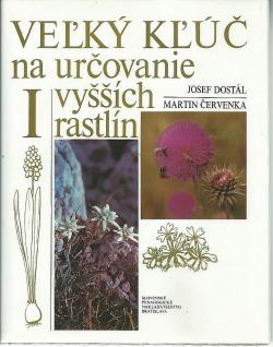 Veľký kľúč na určovanie vyšších rastlín I. obálka knihy