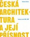 Česká architektura a její přísnost obálka knihy