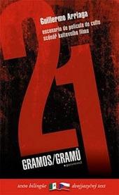 21 gramů / 21 gramos obálka knihy