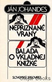 Nepriznané vrany, Balada o vkladnej knižke obálka knihy