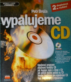 Vypalujeme CD obálka knihy