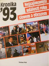 Kronika 93 obálka knihy
