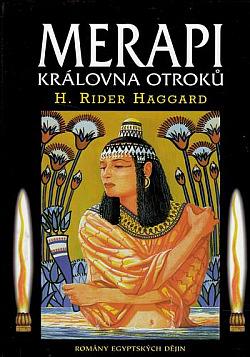 Merapi královna otroků obálka knihy