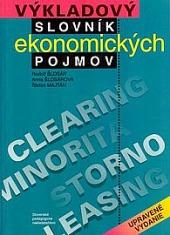 Výkladový slovník ekonomických pojmov obálka knihy