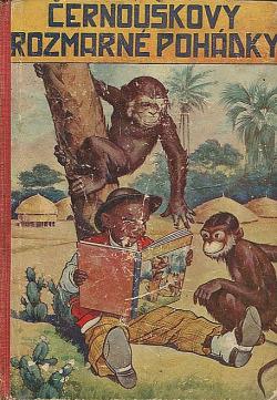 Černouškovy rozmarné pohádky obálka knihy