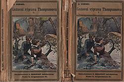 Cestovní výprava Thompsonova I-II obálka knihy