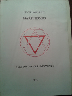 Martinismus obálka knihy