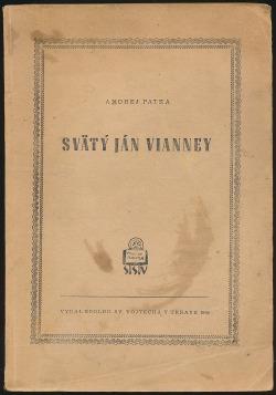 Svätý Ján Vianney obálka knihy