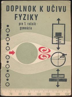 Doplnok k učivu fyziky pre 1. ročník gymnázia obálka knihy