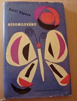 Nedomilováno obálka knihy