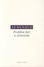 Problém bytí u Aristotela obálka knihy